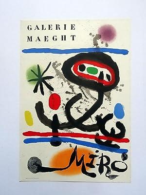 Poster Affiche Plakat - Joan Miró. Galeria Maeght.: Joan Miró
