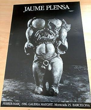 Cartel Jaume Plensa: Jaume Plensa