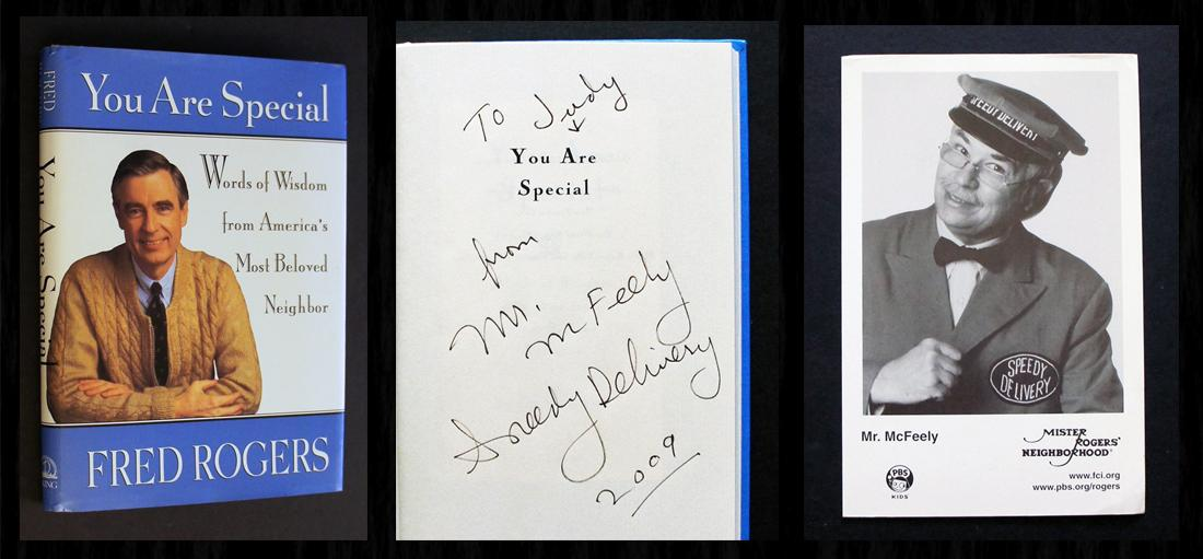 You Are Special Signed By Mr Mcfeely Bonus Photo By Rogers Fred Near Fine Hardcover 1994 1st Edition Signed By Author S Bookcharmed Books Ioba