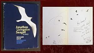 Jonathan Livingston Seagull (SIGNED, with original freehand: Bach, Richard
