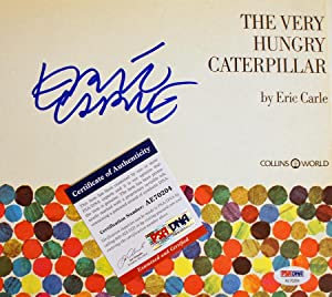 The Very Hungry Caterpillar (SIGNED & PSA Certified Collins/World Ed): Carle, Eric