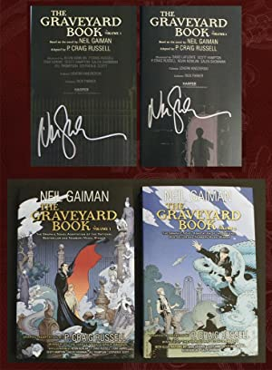 The Graveyard Book Graphic Novel (Two Volumes,: Gaiman, Neil; Russell,