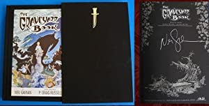 The Graveyard Book Graphic Novel (SIGNED &: Gaiman, Neil; Russell,
