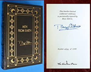 Men from Earth (Signed Easton Press Leather: Aldrin, Buzz