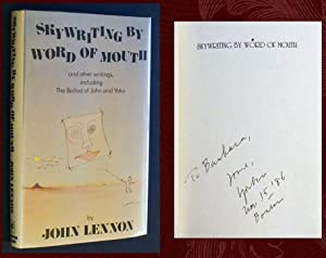 Skywriting by Word of Mouth (SIGNED 1st: John Lennon; Yoko