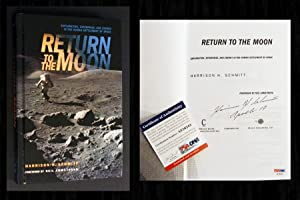 Return to the Moon (Signed by Harrison: Schmitt, Harrison