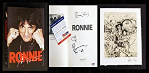 Ronnie: The Autobiography (Signed 1st, Beckett-Authenticated): Wood, Ronnie
