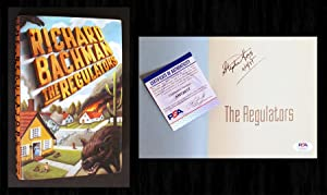 The Regulators (Signed & PSA Certified 1st: Stephen King, Richard