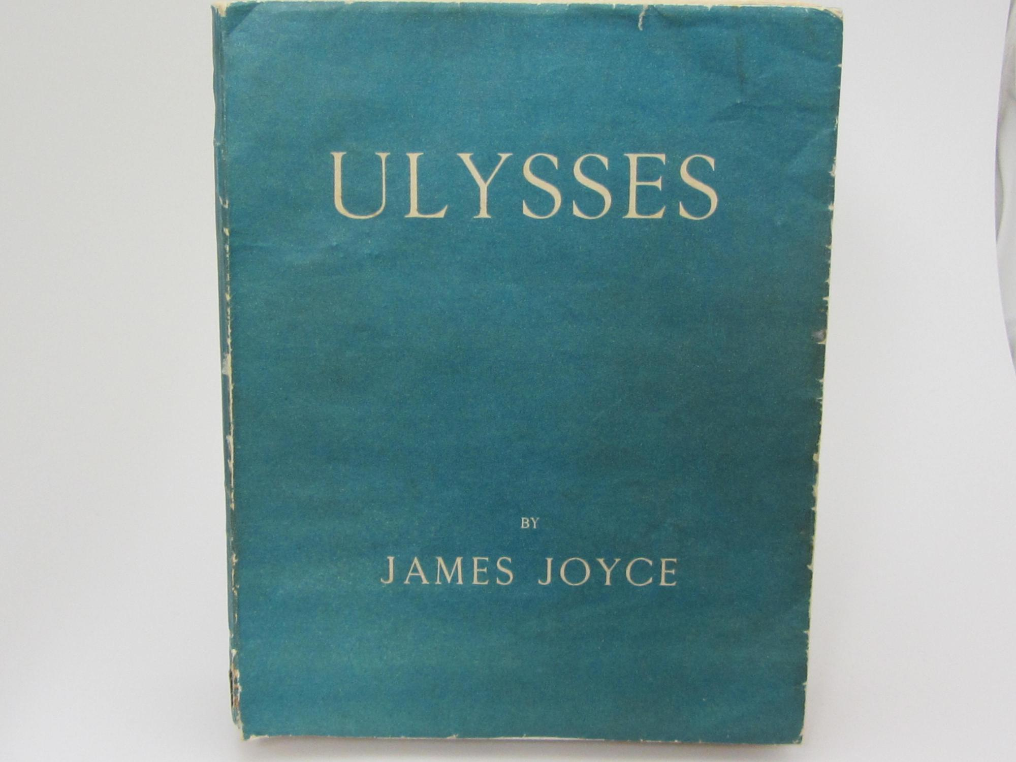 Ulysses Paris Shakespeare Co 1922