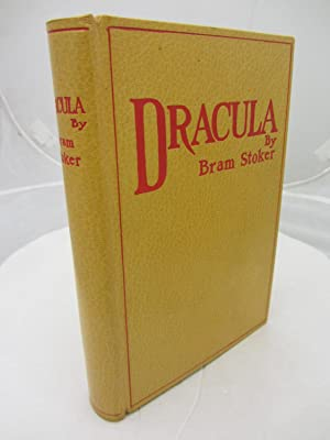 Dracula. London: Archibald Constable, 1897. First edition,: Stoker, Bram.