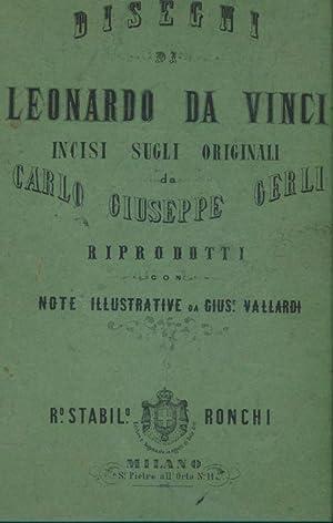 Disegni di Leonardo DA VINCI, incise sugli: Léonard de VINCI