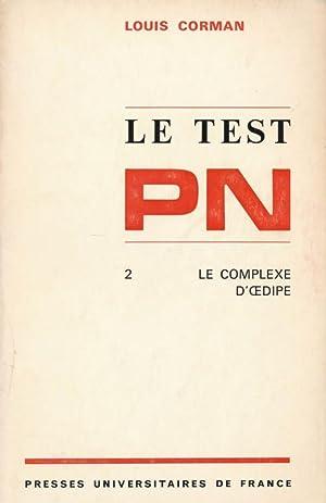 Le test PN. 2. Le complexe d'Oedipe: Louis CORMAN