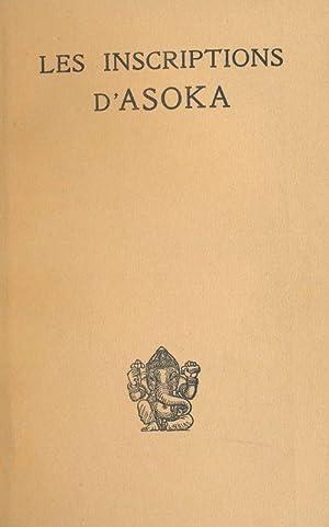 Les inscriptions d'Asoka: BLOCH Jules