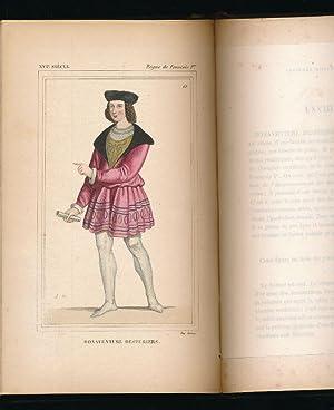 Costumes historiques de la France. Règne de Bibliophile JACOB