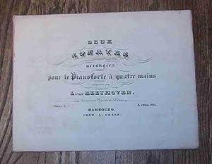 DEUX SONATES ARRANGEES POUR LE PIANOFORTE A QUATRE MAINS. OEUV. 5 NO. II: Beethoven, L. van