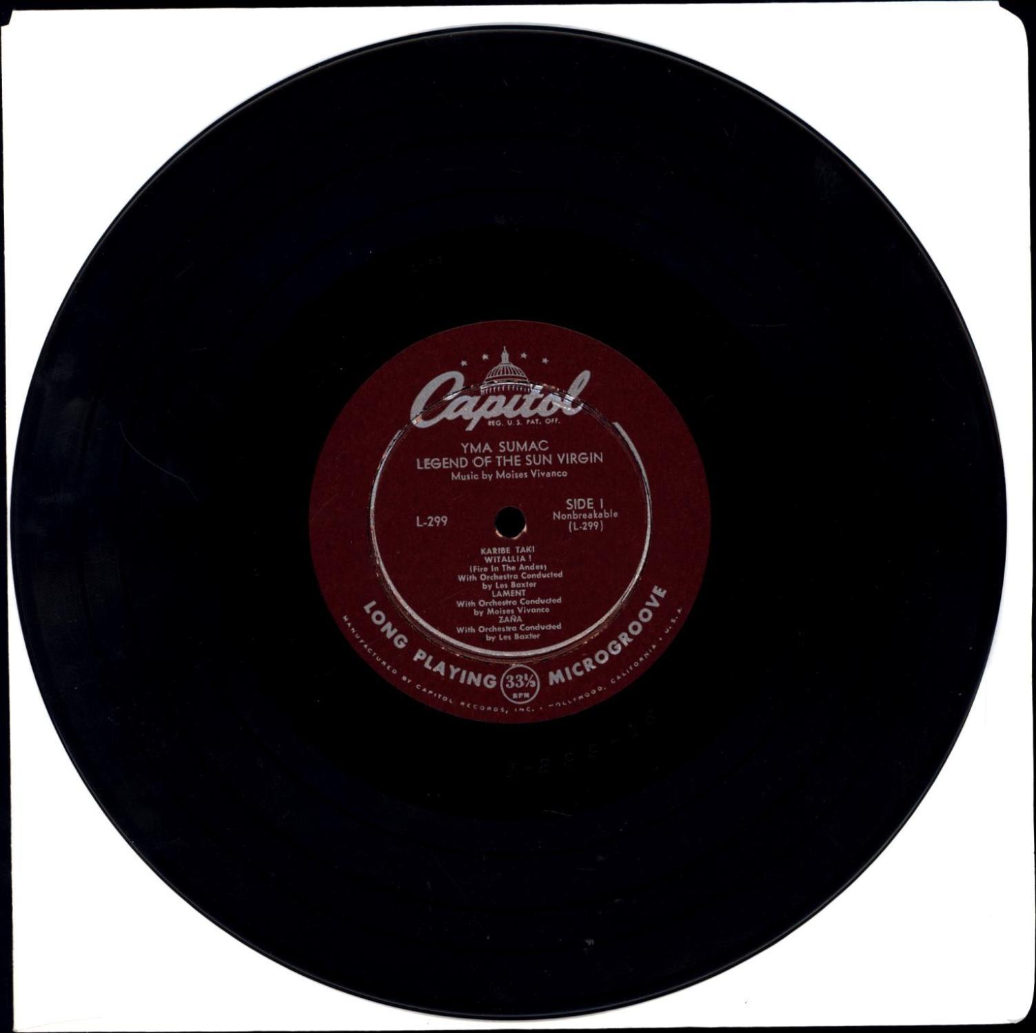 Legend of the Sun Virgin (VINYL EXOTICA LP)