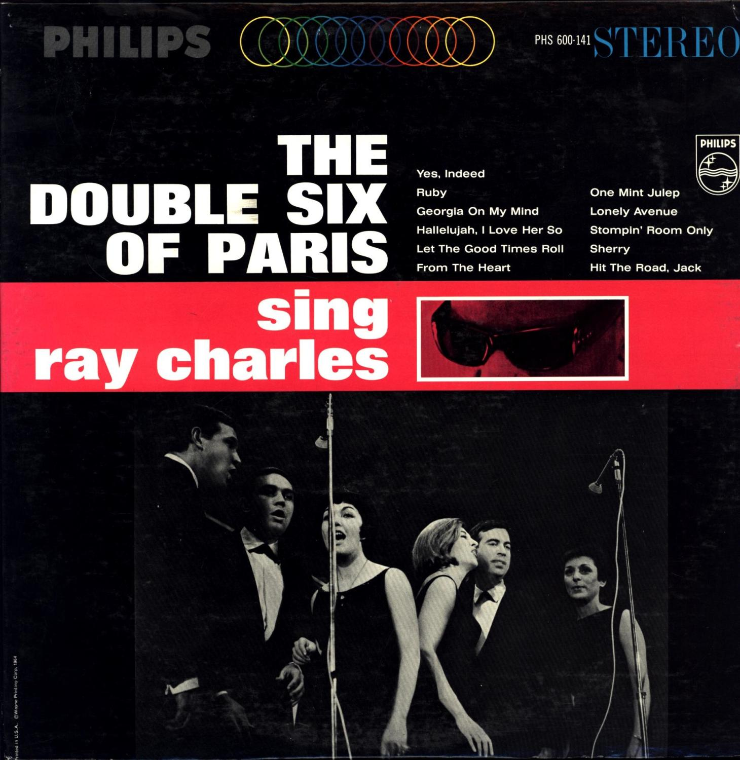 The Double Six of Paris sing ray charles (VINYL LP) The Double Six of Paris Near Fine Hardcover