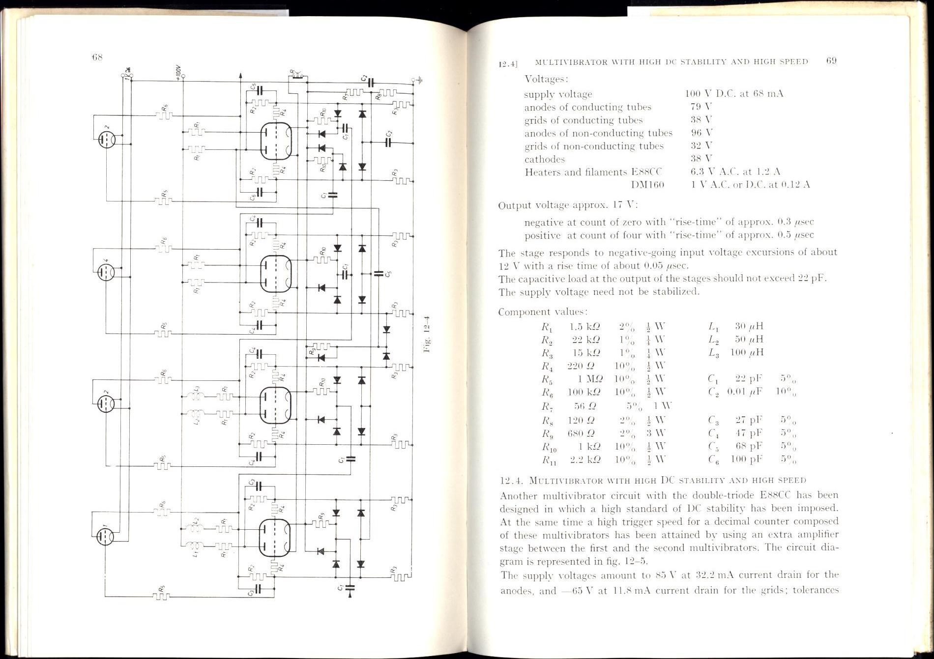 Analysis Of Bistable Multivibrator Operation The Eccles Jordan How To Build Monostable Flip Flop Circuit