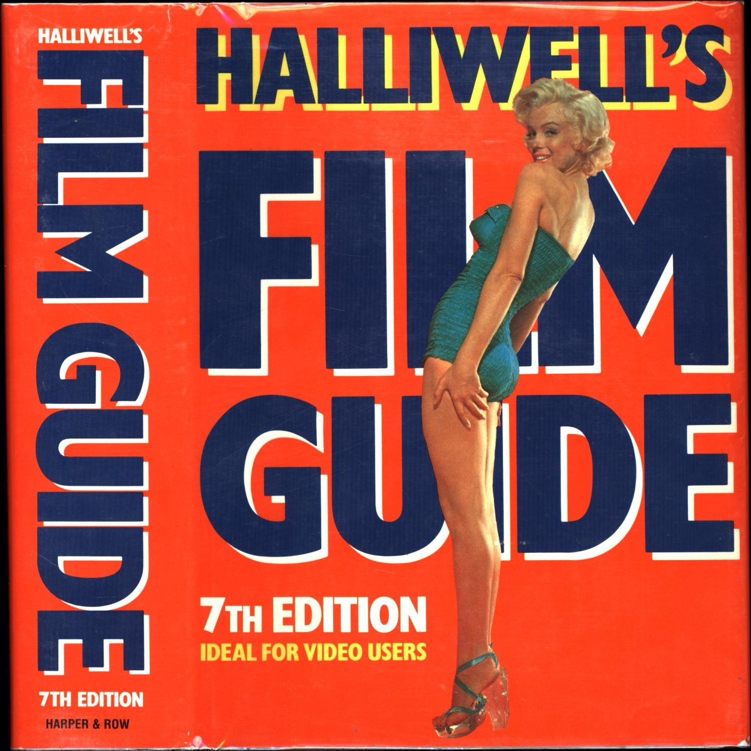9780060163228 - Halliwell, Leslie: Halliwell's Film Guide, Seventh Edition - Buch