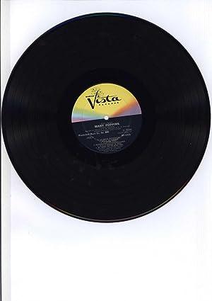 "Walt Disney's ""Mary Poppins"" en Francais (VINYL LP SIGNED BY COMPOSER, AUTOGRAPHED):..."