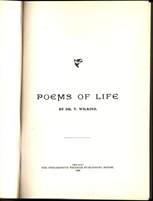 Poems of Life: Wilkins, Timothy