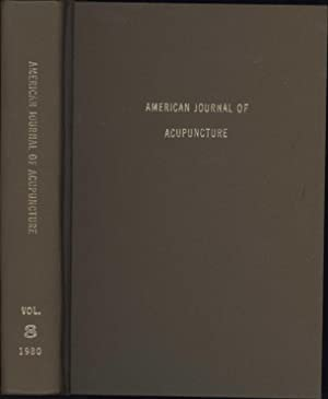 American Journal of Acupuncture Vol. 8