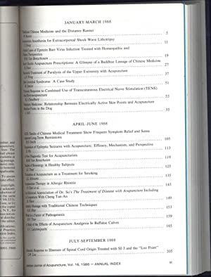 American Journal of Acupuncture Vol. 16