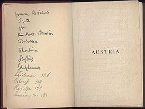 Baedeker's Austria / Togethep with Budapest, Prague, Karlsbad, Marienbad / Handbook ...