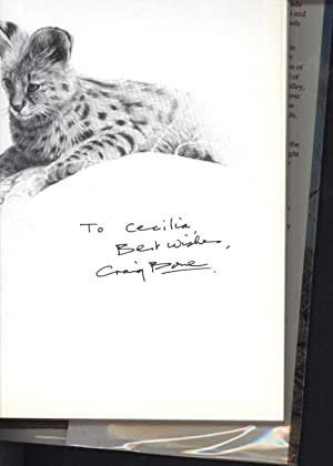 African Seasons / Wildlife at the Waterhole / Craig Bone (INSCRIBED & SIGNED BY THE ARTIST): ...