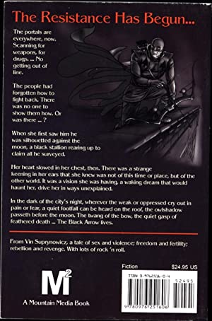 The Black Arrow / A Tale of The Resistance (SIGNED): Suprynowicz, Vin