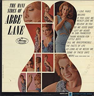 The Many Sides of Abbe Lane (AUTOGRAPHED, SIGNED VINYL LP): Lane, Abbe