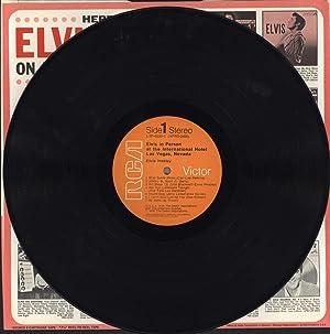 Elvis in Person at the International Hotel, Las Vegas, Nevada / Elvis Back in Memphis (VINYL ...