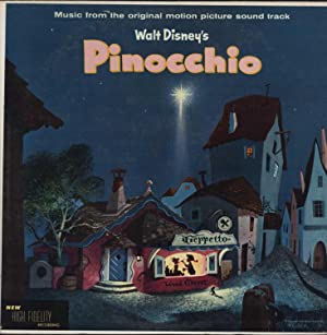 Pinocchio, Walt Disney's / Music from the original motion picture sound track (VINYL LP):...