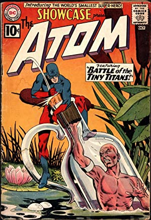 "Showcase presents The Atom (Showcase No. 34) / Featuring ""Battle of the Tiny Titans""..."