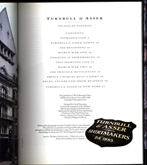 Turnbull & Asser / Shirtmakers Est. 1885 / The Pedigree and Style of a Very English ...
