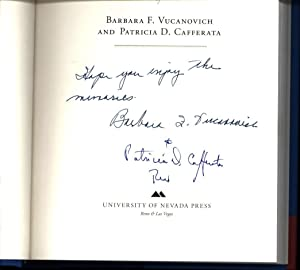 From Nevada to Congress, and Back Again (SIGNED BY BOTH AUTHORS): Vucanovich, Barbara F. and ...