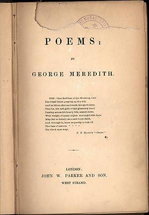 Poems: Meredith, George