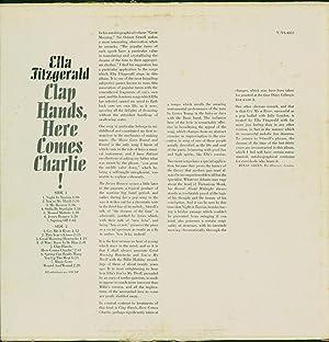 Clap Hands, Here Comes Charlie! (VINYL LP): Fitzgerald, Ella