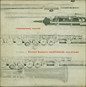 Howard Rumsey's Lighthouse All-Stars, Vol. 4 (VINYL JAZZ LP): Rumsey, Howard; with Bob Cooper,...