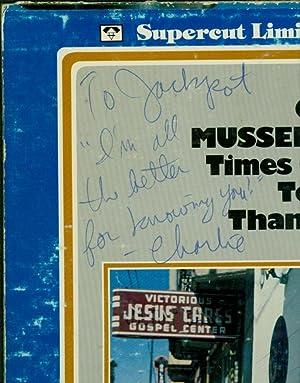 Times Gettin' Tougher Than Tough (SIGNED VINYL LP): Musselwhite, Charlie