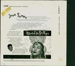 Legend of the Sun Virgin (VINYL LP): Sumac, Yma / Music by Moises Vivanca