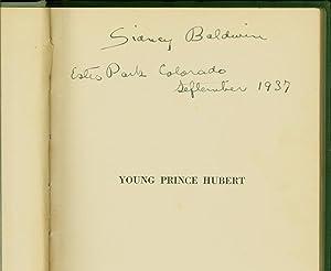 Young Prince Hubert (SIGNED): Baldwin, Sidney