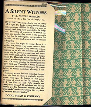 A Silent Witness / A Detective Story: Freeman, R. Austin