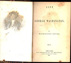 Life of George Washington / In Four Vols. / all four volumes (THE STEWART HARTSHORN SET):...
