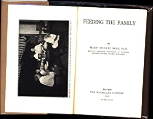 Feeding the Family (IN ORIGINAL DUST JACKET): Rose, Mary Swartz, Ph.D.
