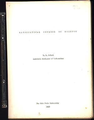 Mathematical Methods in Science: Helsel, Robert G.