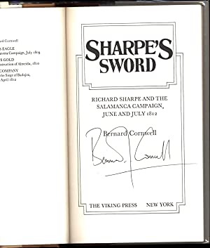 Sharpe's Sword / A novel / Richard Sharpe and the Salamanca Campaign, June and July 1812 (...