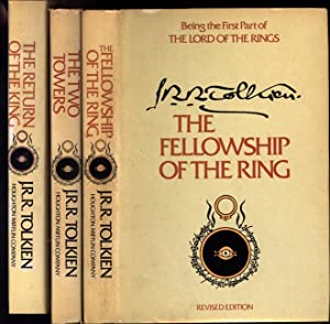 The Lord of the Rings in three volumes: The Fellowship of the Ring; The Two Towers; and The Return ...
