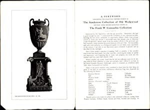 A Catalogue of A Collection of Plaques, Medallions, Vases, Figures, &c., in Coloured Jasper and...