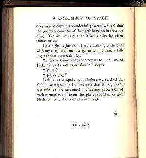 A Columbus of Space: Serviss, Garrett P.